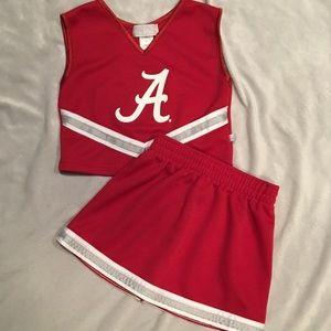 Alabama Girls Cheerleader Outfit